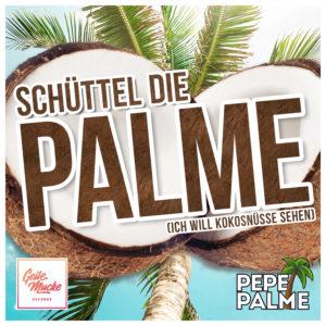 Pepe Palme - Schüttel die Palme - Cover